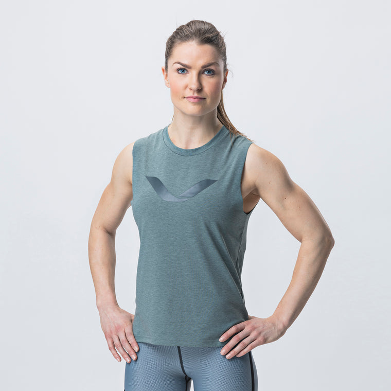 Grip Tank Top, Women <br>Mist Green