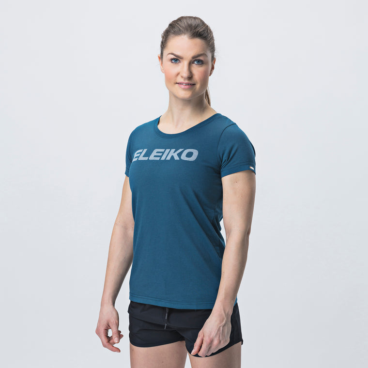 Energy T-Shirt, Women <br>Strong Blue