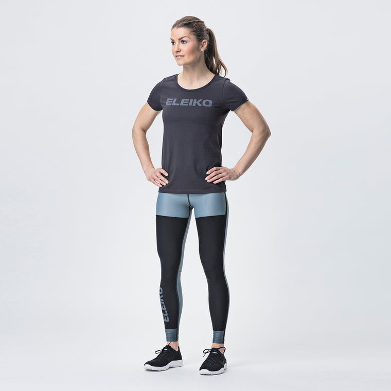 Energy T-Shirt, Women <br>Strong Grey