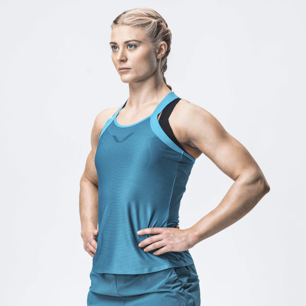 Elevate Tank Top, Women <br>Mosaic Blue