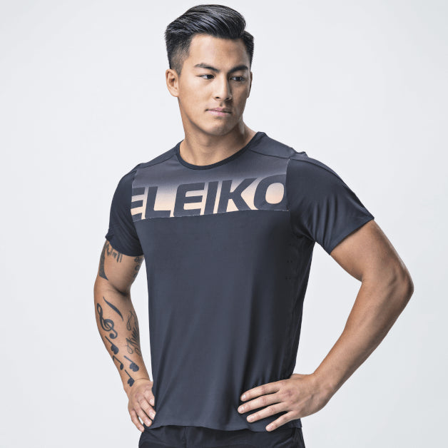 Elevate T-Shirt <br>Jet Black
