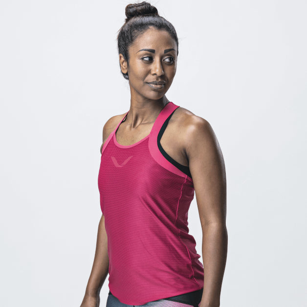 Elevate Tank Top, Women <br>Rose Red