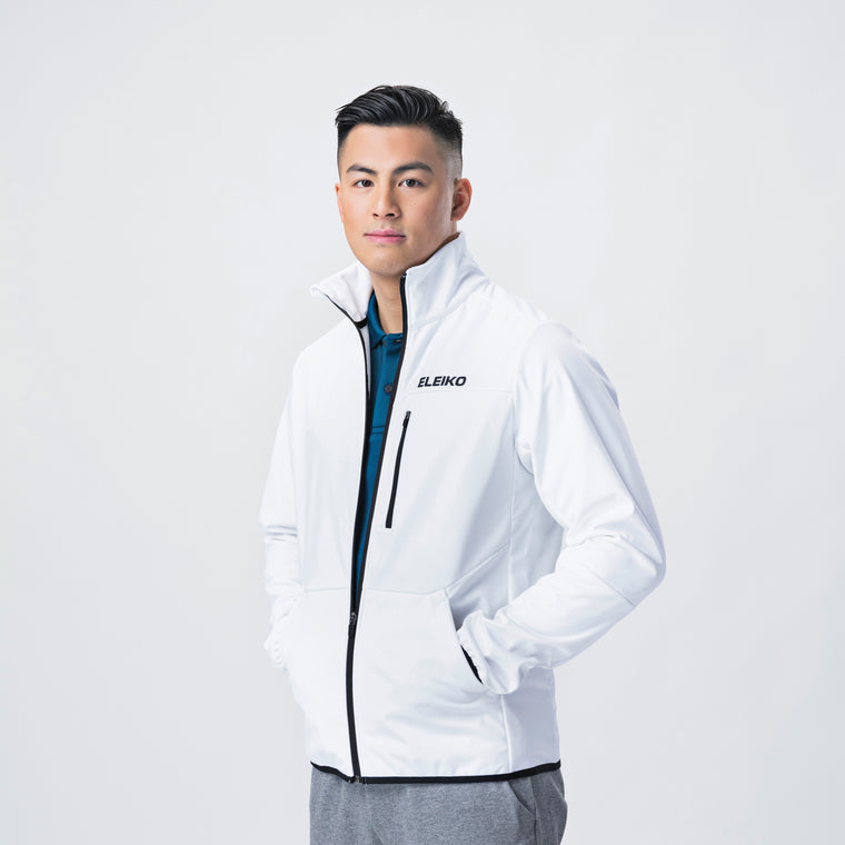Dynamic Jacket, Men <Br> White