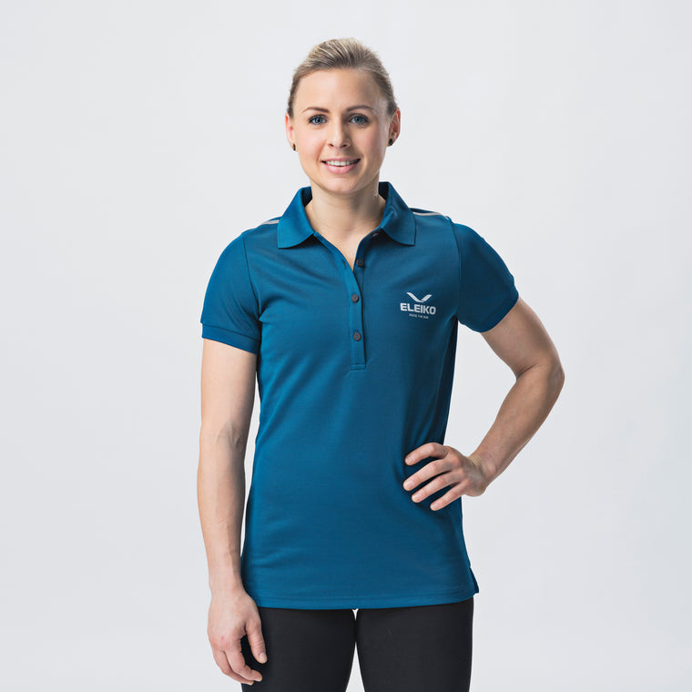 Energy Polo, Womens <br> Strong Blue