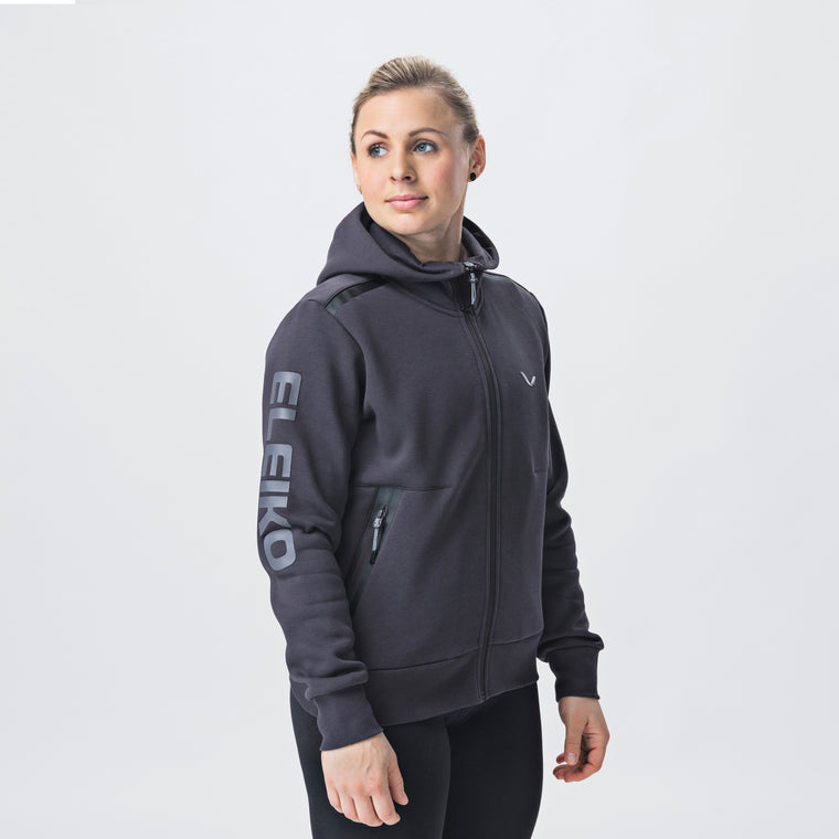 Focus Hood, Women <br>Strong Grey