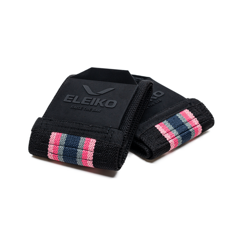 Eleiko Wrist Wraps<br/>Weightlifting Solar Pink