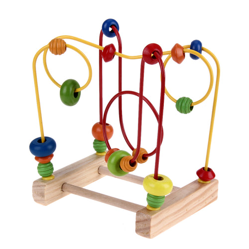 Abacus Wire Maze Roller Coaster – Counting Circles Beads