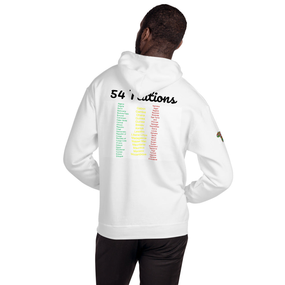 54 Nations Hooded Sweatshirt
