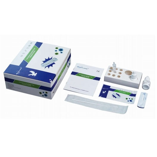 HEALGEN COVID-19 RAPID ANTIGEN TEST (20 TESTS): MAIL ORDER (MEDICAL PROFESSIONAL REQUIRED)
