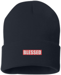 BLESSED NAVY BEANIE