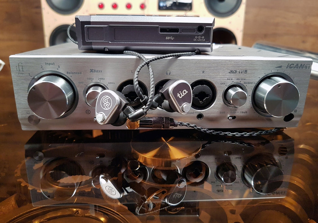 iFi Pro iCAN with IEMs