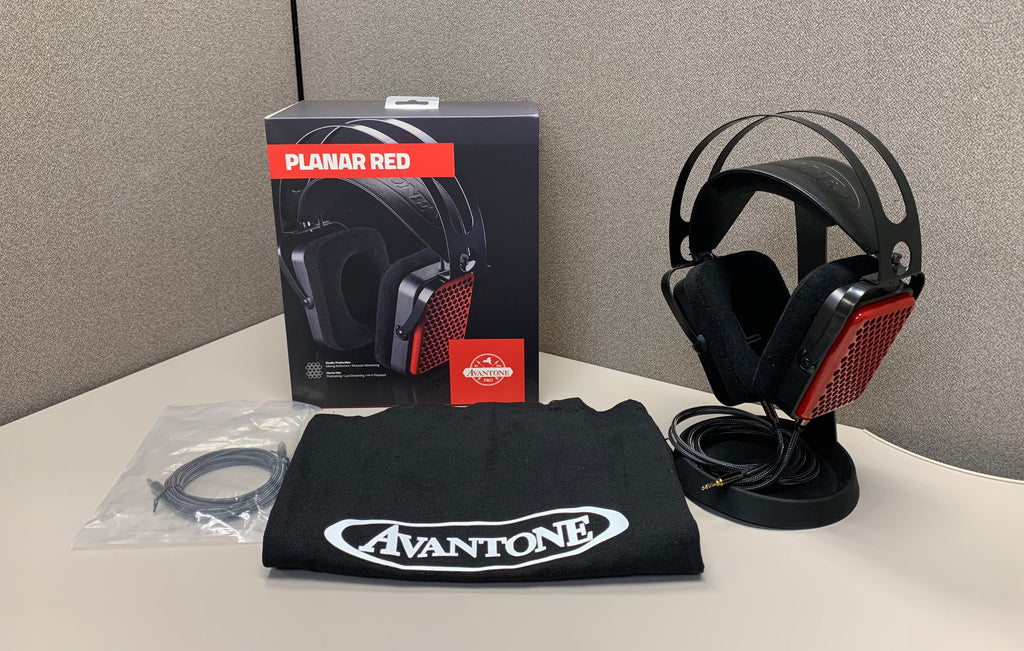 Avantone Planar Red Headphones