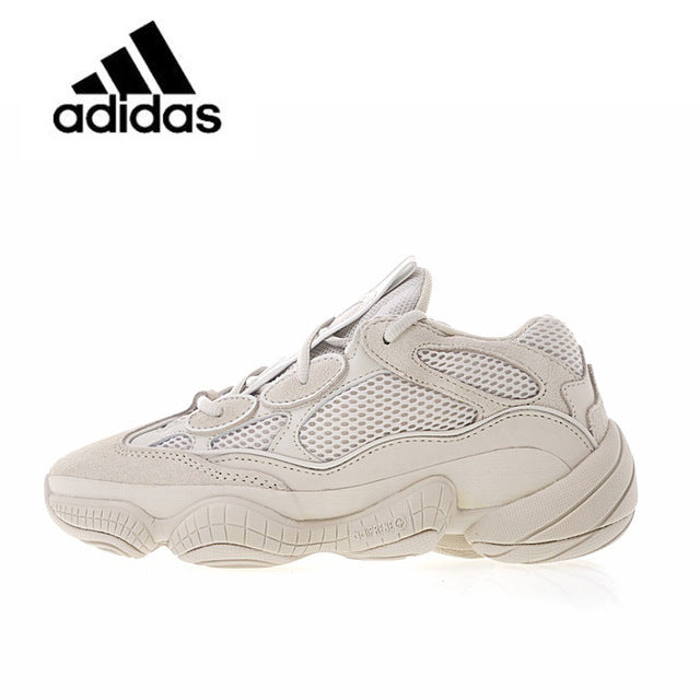 timeless design 50f0d e1ccc ... hot new arrival authentic classic adidas yeezy desert rat 500 blush  unisex breathable running shoes sports