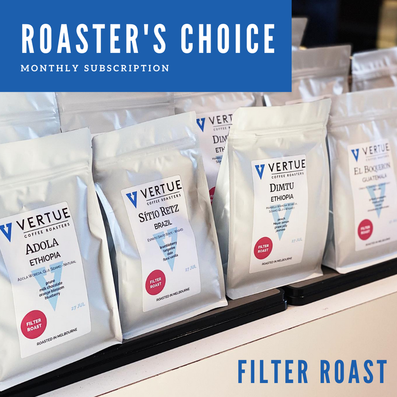 Roaster's Choice monthly subscription - FILTER ROAST
