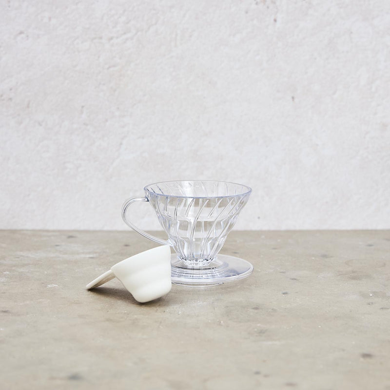 Hario V60 clear plastic