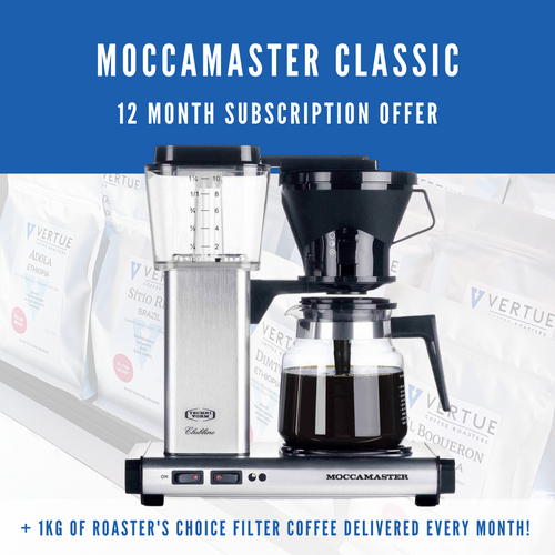 Moccamaster Classic - 12 month subscription offer