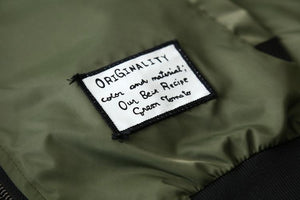 Men Pilot Bomber Jacket - Hooked On Saving