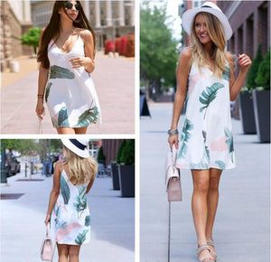 Summer Hot V-Neck Beach Dress Cover Up - Hooked On Saving