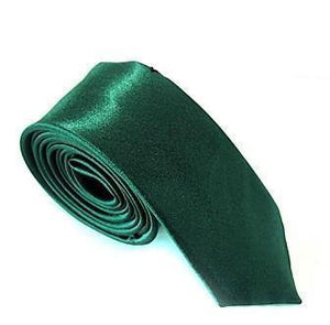 Premium Modern Skinny Fashion Solid Color Neck Tie - Hooked On Saving