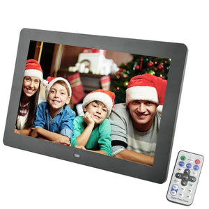 10 Inch Multi-Feature Digital HD Picture Frame and Media Player - Hooked On Saving