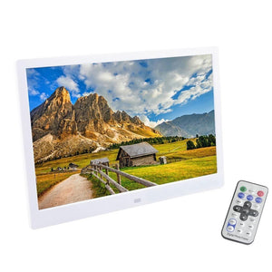 12 Inch Multi-Feature Digital HD Picture Frame and Media Player - Hooked On Saving