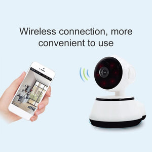 2 Way Talk HD Security Camera with Night Vision (No Wires Needed) - Hooked On Saving