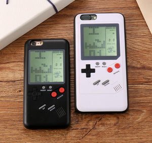 Blast From The Past 90's Video Game iPhone Case - Hooked On Saving