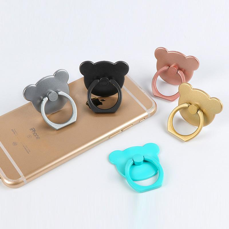 Cute Bear 2 in 1 Mobile Phone Stand & Finger Ring - Hooked On Saving