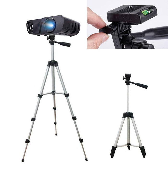 Light and Durable Tripod Stand for Cameras and Projectors