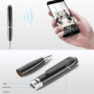 Pro Spy Camera Pen - HD and Real Time Video - Hooked On Saving