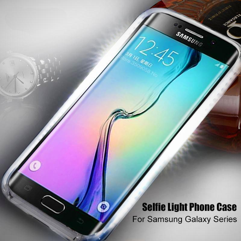 Samsung Smartphone Case with Selfie LED Light Frame - Hooked On Saving