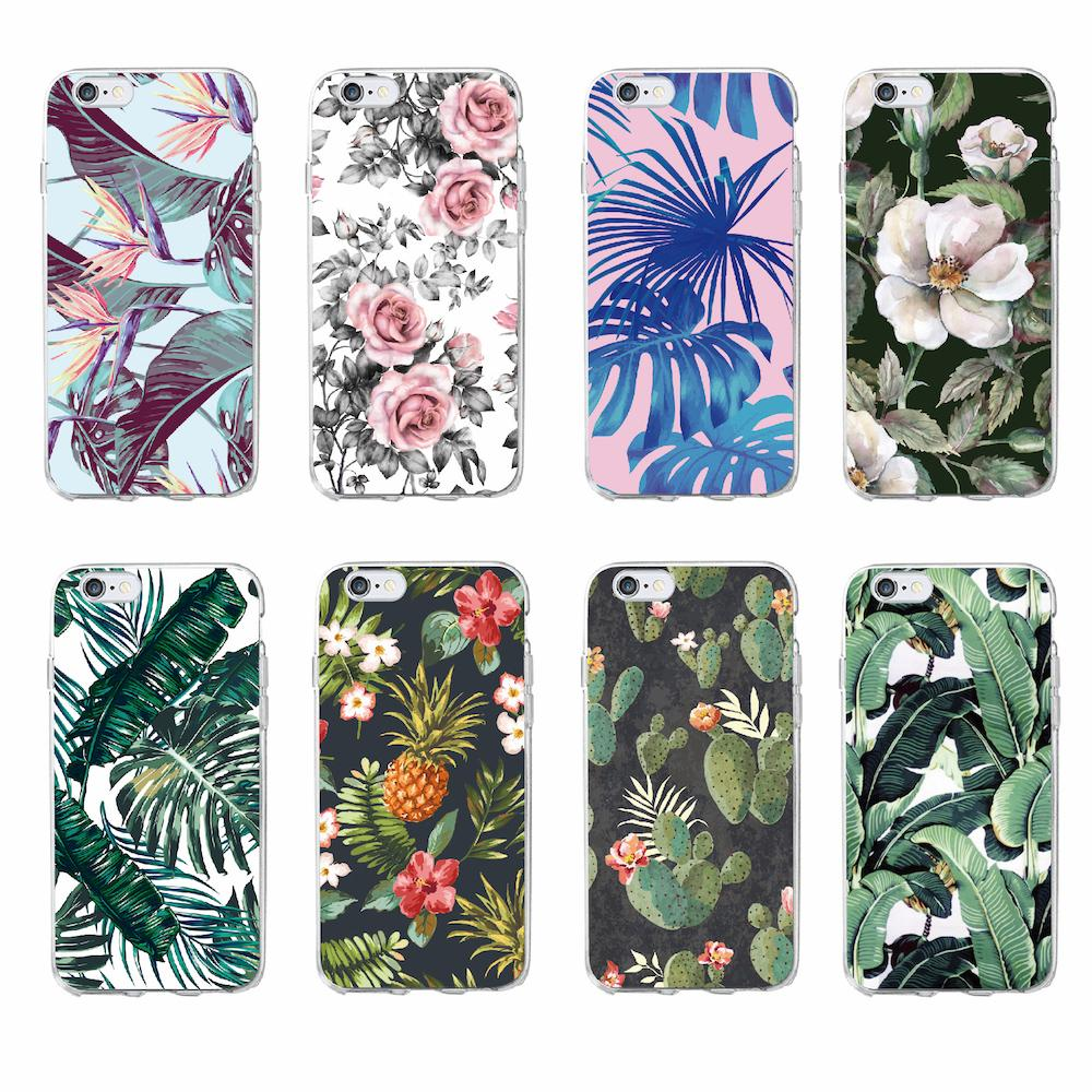 Tropical Phone Case for iPhone & Samsung - Hooked On Saving