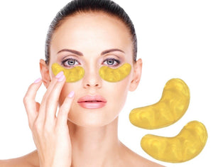 Eye Rejuvenating Moisturizing Collagen Mask - Gold (20 pieces) - Hooked On Saving