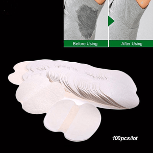 Premium Quality Armpit Disposable Sweat Pads 100 Pieces (50 Pairs) - Hooked On Saving