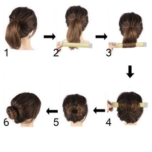 Quick n Easy French Hair Bun-Maker - Hooked On Saving