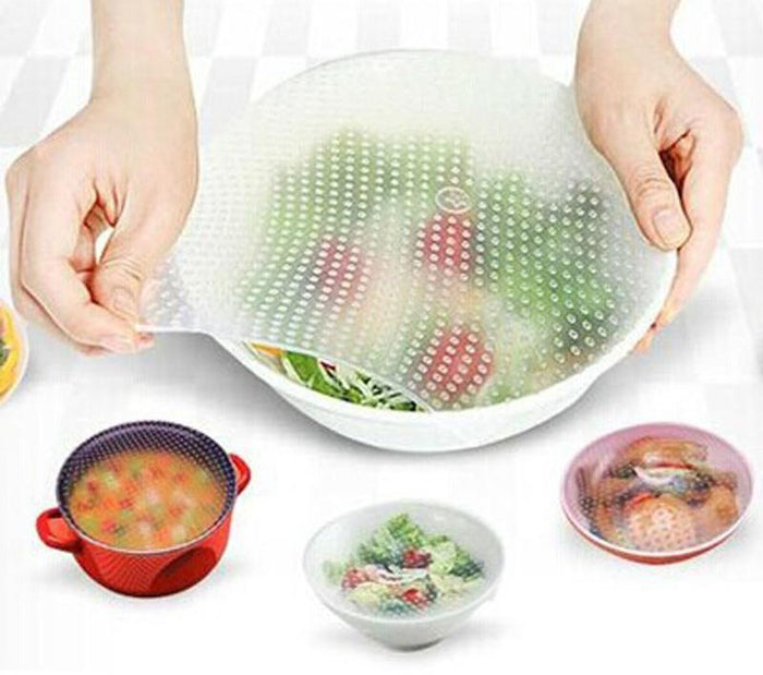 4Pcs Stretchable Container Seals