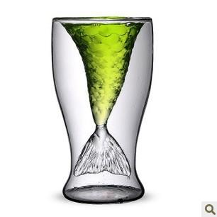 Fish Tail Shaped Shot Glass 100ml