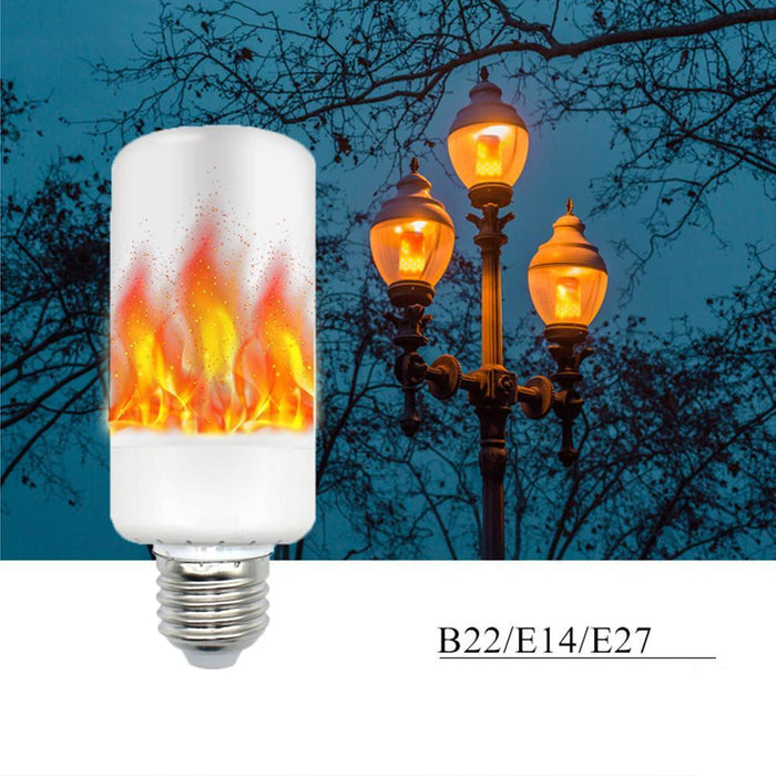 LED Fire Flame Simulated Light Bulb