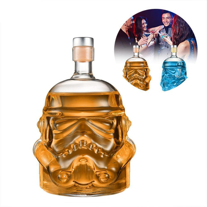 Star Wars Storm Trooper Helmet Crystal Bottle