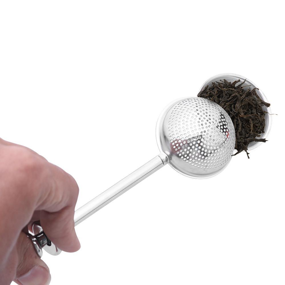 ... Tea Infuser Ball with Press for Fresh Natural Homemade Tea or Coffee - Hooked On Saving ...