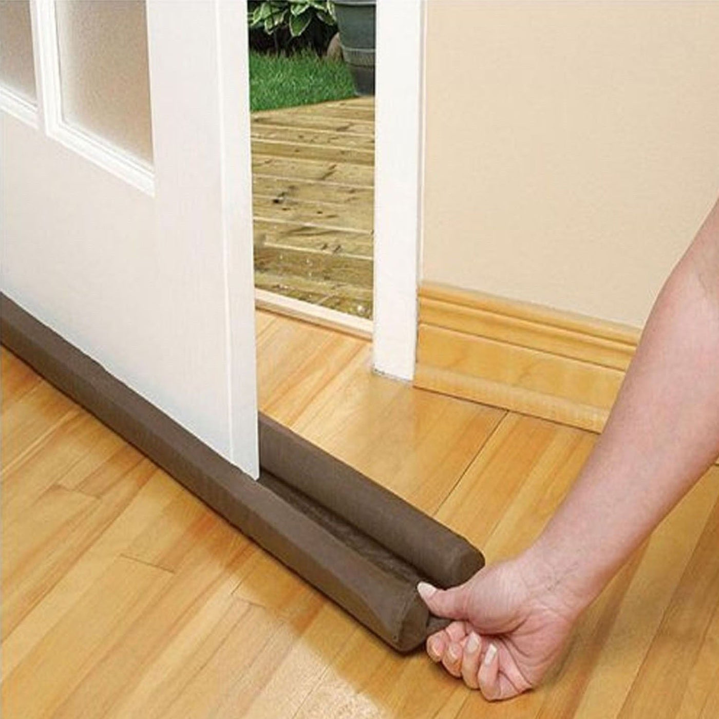 The Door Draft Stopper   Energy Saver And Sound Blocker   Hooked On Saving  ...