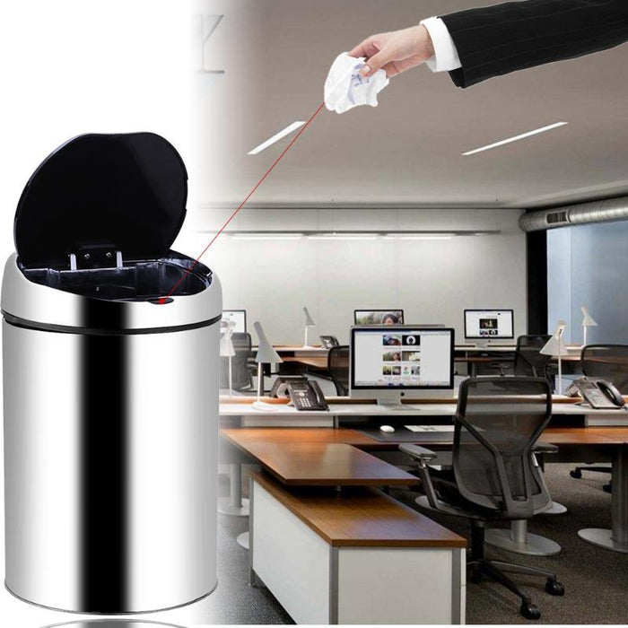 The Smart Stainless Steel Waste Bin (3 to 8L Capacity)