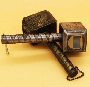 Thor's Mighty Hammer - Bottle Opener - Hooked On Saving