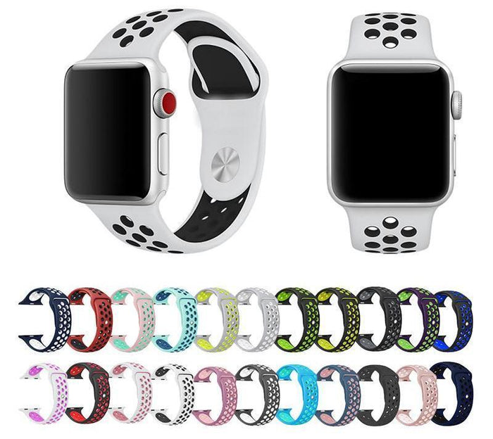 Colorful Silicone Bands for Multi-Functional Sports Smart Watch (Band Only)