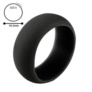Trendy Flexible Hypoallergenic Silicone Unisex Ring - Hooked On Saving