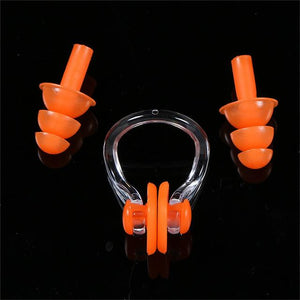Swimmer's Professional Grade Nose Clip & Earplugs Bundle - Hooked On Saving