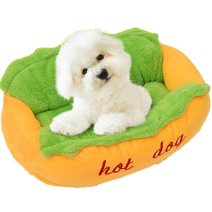 The Hot Dog Napping Station For Pets - Hooked On Saving