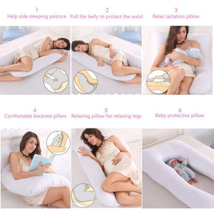 "Premium Quality Maternity ""U"" Pillow - Hooked On Saving"