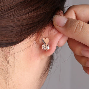 Magic Ear Lobe Lifters Hypoallergenic Earring Backs Unique Solution! - Hooked On Saving