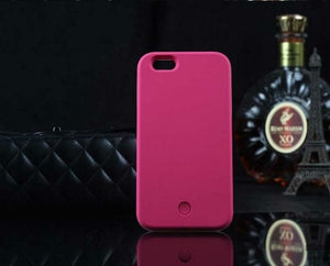 iPhone Case with Selfie LED Light Frame - Hooked On Saving